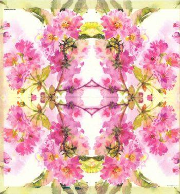 Decoupage Napkins | Flower Napkins | Watercolor of Spring Cherry Blossoms | Paper Napkins for Decoupage