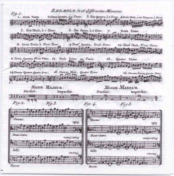 Decoupage Paper Napkins | Adagio Classical Sheet Music | Paper Napkins for Decoupage