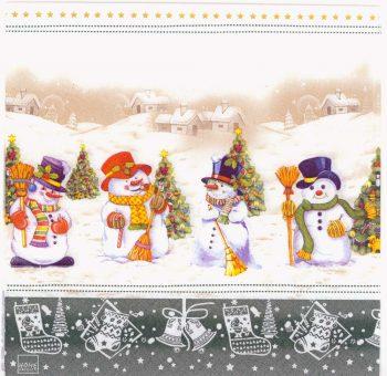 Decoupage Paper Napkins   Christmas Snowman Collection Christmas Trees Winter Snow  Christmas Napkins   Paper Napkins for Decoupage