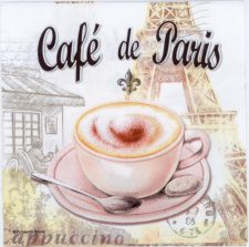 Event Paper Napkins Paris Coffee