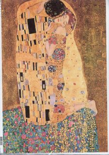 Decoupage Rice Paper Sheet The Kiss by Klimt