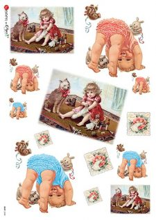 Decorative Rice Paper   Baby & Toddler Playing