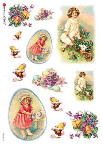 children in the Easter