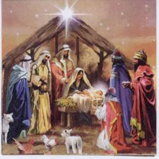 Event Paper Napkins Christmas Nativity