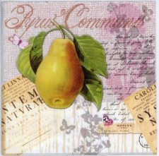 Decoupage Napkin of a Pear | Paper Napkins for Decoupage