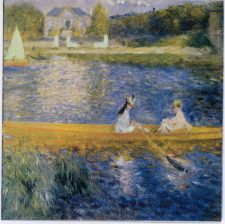 Decoupage Paper of Renoir's The Skiff La Yole | Paper Napkins for Decoupage