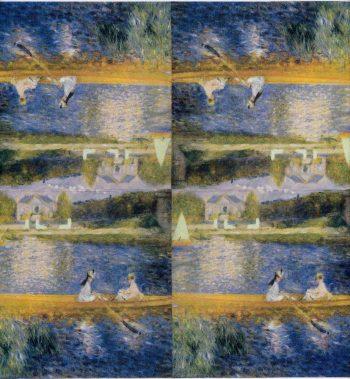 Decoupage Paper of Renoir's The Skiff La Yole | Paper Napkins for Decoupage