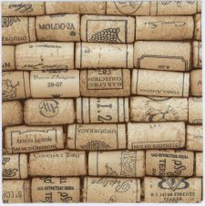 Decoupage Napkins of Vintage European Wine Corks | Paper Napkins for Decoupage