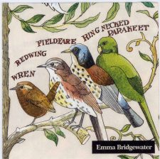 Decoupage Paper Napkins of Emma Bridgewater's Garden Birds | Paper Napkins for Decoupage