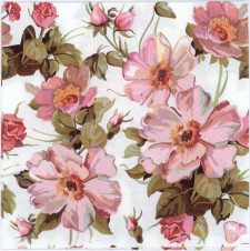Decoupage Paper of Romantic Flower Garden | Paper Napkins for Decoupage