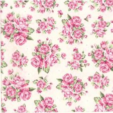 Decoupage Napkins |Romantic Napkins |Pink Pastel Roses |Paper Napkins for Decoupage