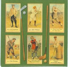 Golf Napkins|Vintage Golfing | Paper Napkins for Decoupage